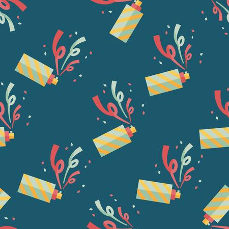 parade confetti: confetti flat icon,eps10 seamless pattern background