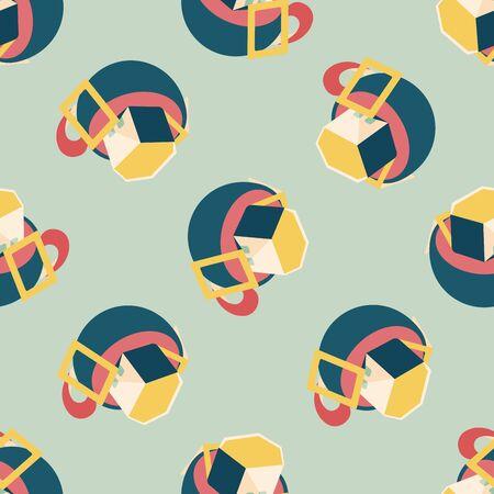 coffee bag: coffee bag flat icon,eps10 seamless pattern background