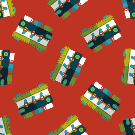 coffee machine: coffee machine flat icon,eps10 seamless pattern background Illustration