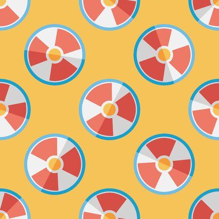 radiacion: Radiación icono plana patrón de fondo sin fisuras