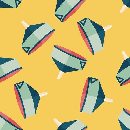 kitchenware funnel flat icon,eps10 seamless pattern background