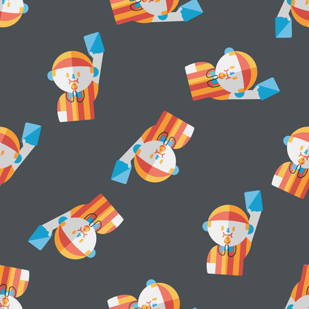 football judge: soccer referee flat icon,eps10 seamless pattern background