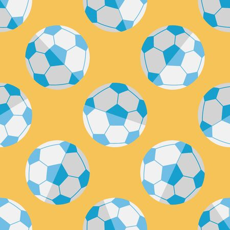 Soccer flat icon,eps10 seamless pattern background Vector