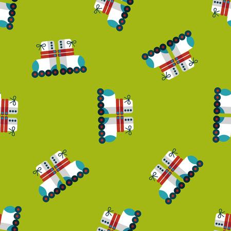 roller skates: Roller skates flat icon,eps10 seamless pattern background