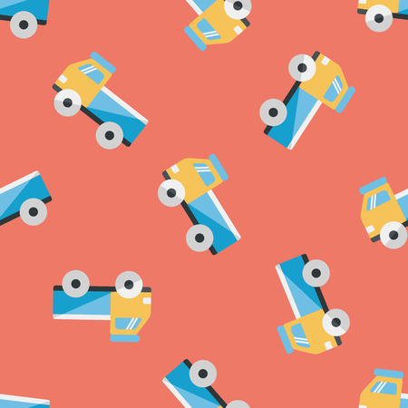 glyphs: Truck flat icon,eps10 seamless pattern background