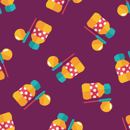 transparence: bubbles flat icon,eps10 seamless pattern background