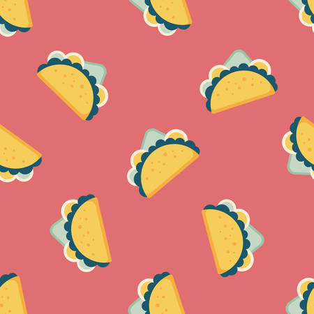 sub menu: sandwich flat icon,eps10 seamless pattern background