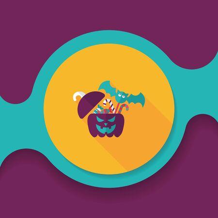sh: halloween pumpkin vector