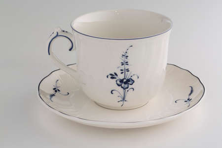 Empty cup for coffee and tea Standard-Bild