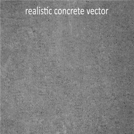 realistic concrete vector Ilustracja