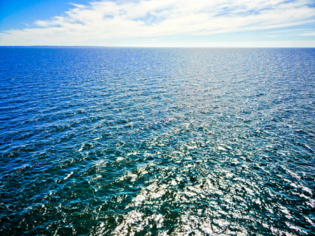 Blue Ocean Texture with Ripples