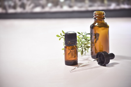 Essential Oil Bottles with Eye Dropper