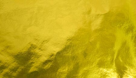 Gold Metallic Foil Background