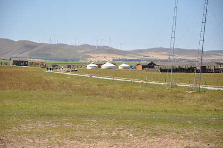 Prairie yurt