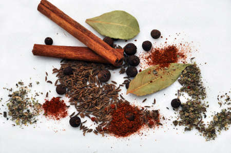 spices: Spilled spice