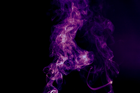 Abstract background with purple colored smoke Stock fotó