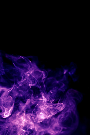 Abstract background with violet colored smoke Stock fotó