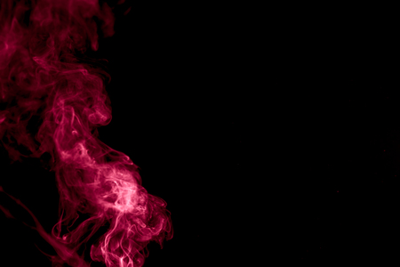Abstract background with red colored smoke