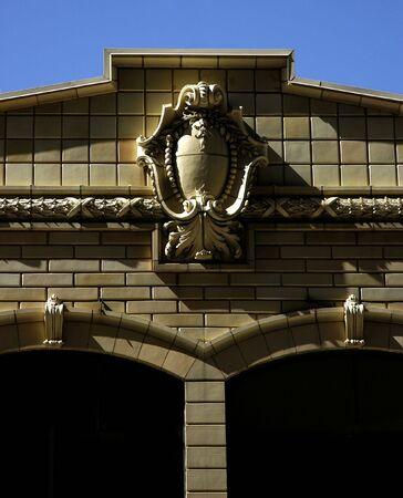 Building Details Banco de Imagens