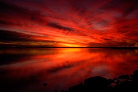 Nature - Dramatic Sunset