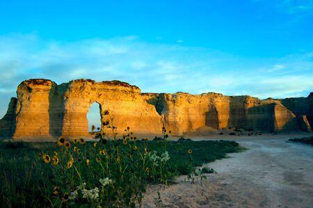 natur: Natur - Limestone Formations Stock Photo