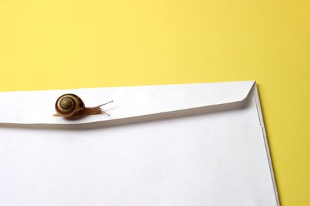 Snail Mail Concept Imagens - 546913