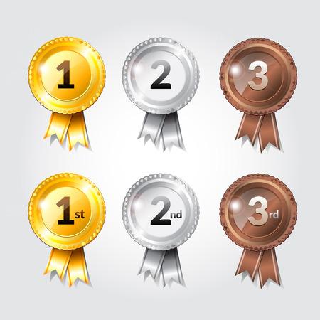 second place: Award ribbon