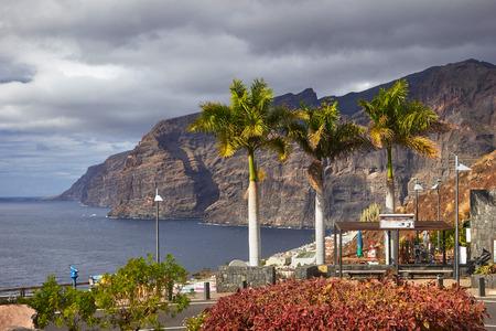ロス ギガンテス崖、テネリフェ島、カナリア諸島