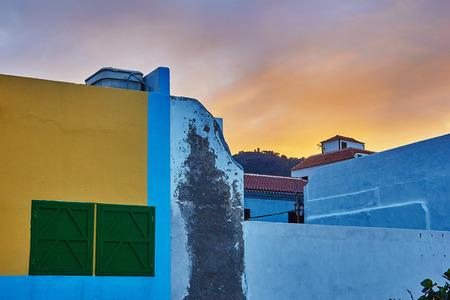 プラヤ ・ ブランカ、テネリフェ島、スペインの建築の細部