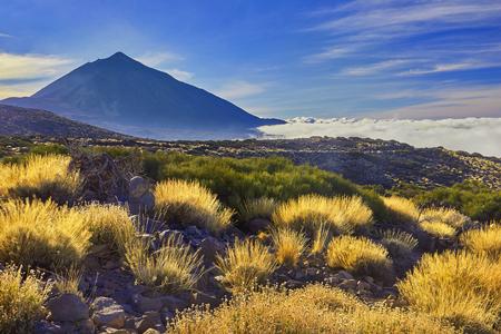 エル テイデ、カナリア諸島, テネリフェ島の火山