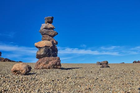 ピラミッドの石