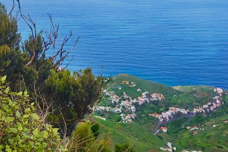 阿那賀山からの景色。 写真素材