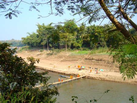 Rivier in Laos