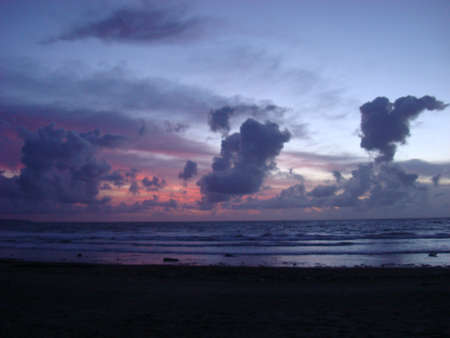 Dancing clouds in Bali