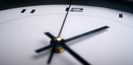 Close up of a clock