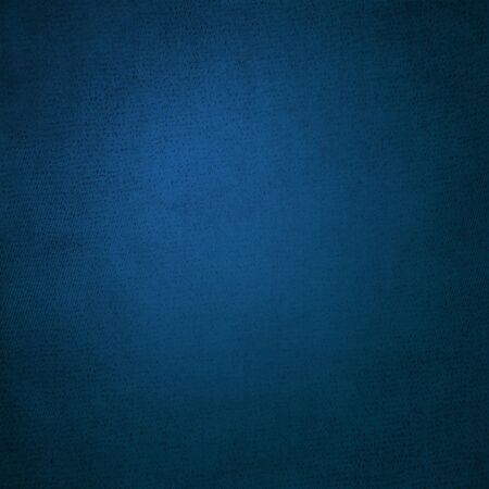 Deep blue background, grungy vintage style with light spot
