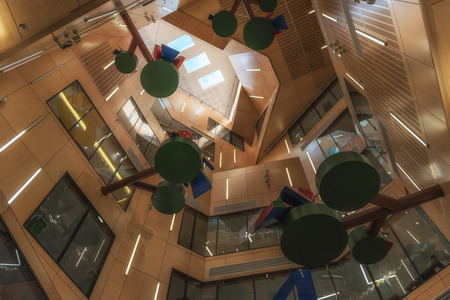 Brisbane building interior, Australia Editorial