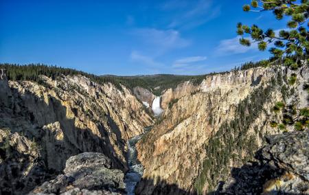 Yellowstone National Park, USA 스톡 콘텐츠