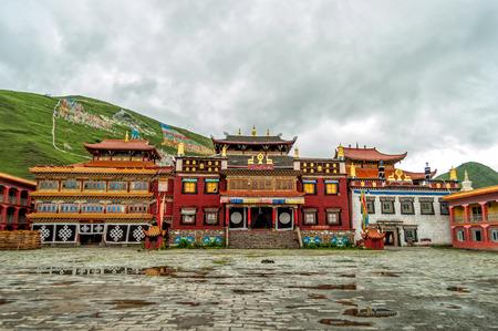 Sichuan Kangding  Tibetan Temple
