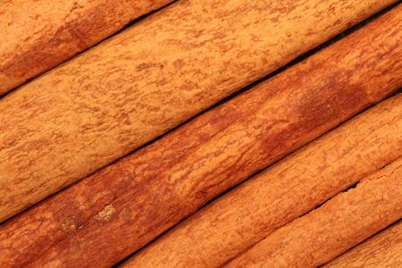 cinnimon: A closeup of rich looking cinnamon sticks  Stock Photo