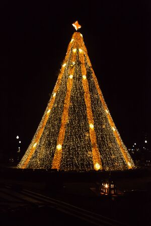 stock photo washington dc december 5 2015 the national christmas tree is lit up for the holiday season near the white house - Washington Dc Christmas Tree