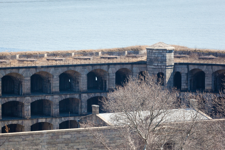 staten: The Battery Weed at Fort Wadsworth on Staten Island is seen during the winter.