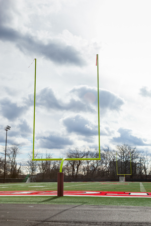 PISCATAWAY, NEW JERSEY - January 4, 2017: A view of one of the Rutgers Football practice fields on the Busch Campus Editorial