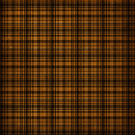Digital paper is designed in a vintage grunge style with black and orange colors. This one is in a plaid or gingham style. 免版税图像