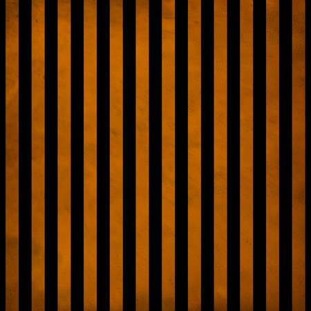Digital paper is designed in a vintage grunge style with black and orange colors. This one is done in a striped pattern. 免版税图像