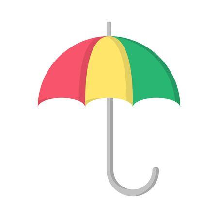 vector illustration flat design umbrella icon logo