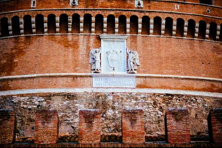 Italy, Rome, Castel SantAngelo, Фото со стока