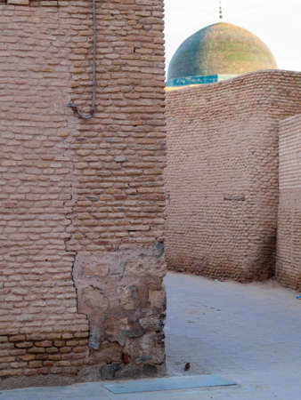 The old town of Ouled El Hwadef is an exquisite example of the local brickwork. Mandated by the local government, the narrow streets, walls and façades were decorated with bricks, resulting in one of the most distinct and beautiful architectural styles of Tunisia
