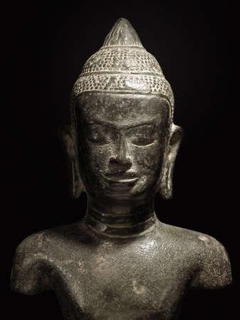 buddha statue of vietnam indochina made of stone photo