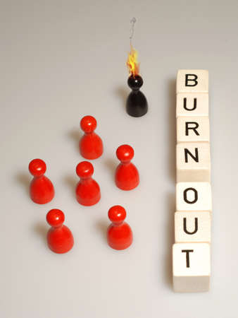 burn out: burn out business management work
